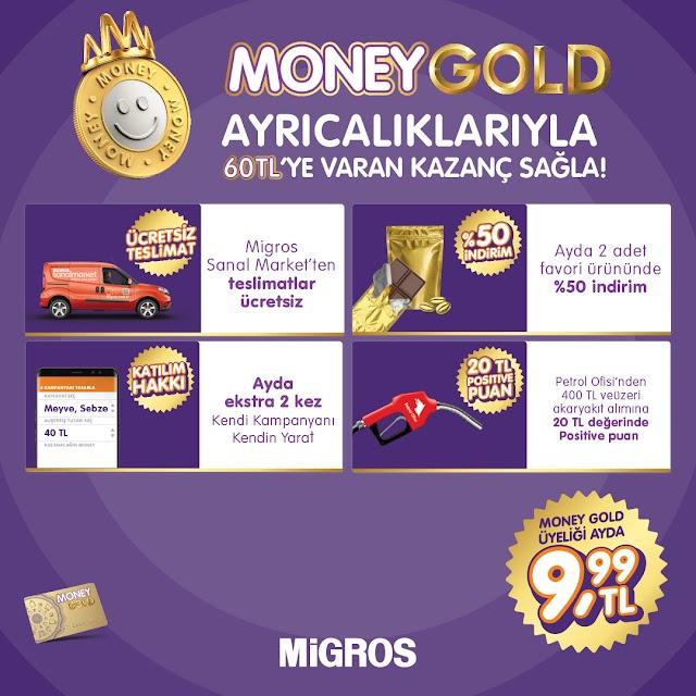 Migros Money Gold avantajları neler ?