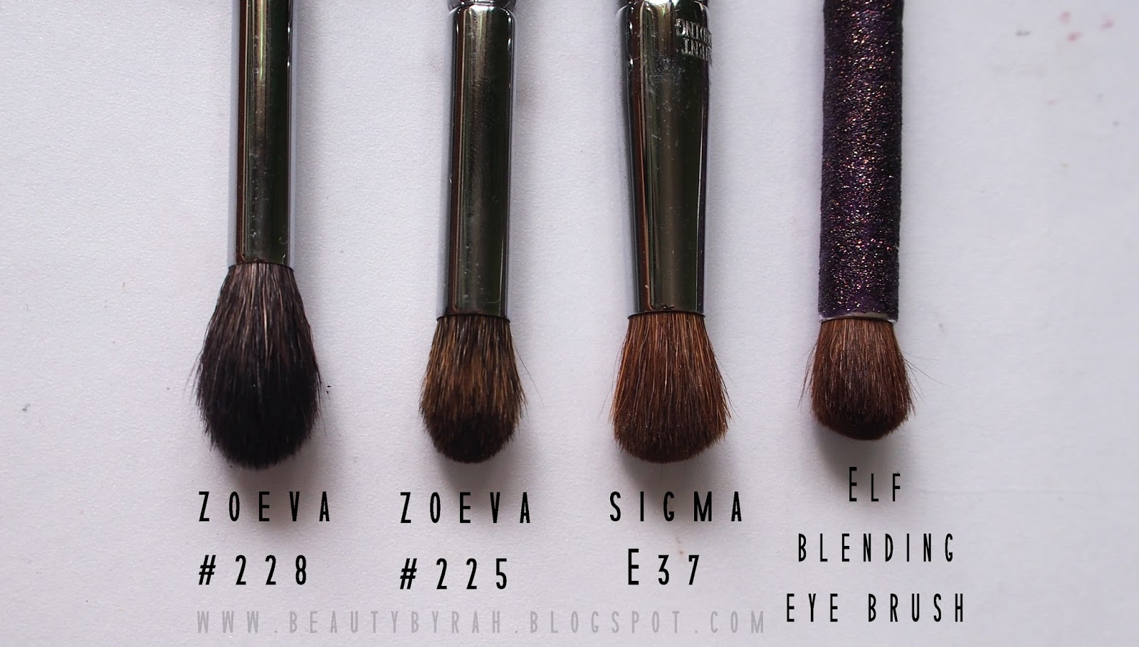 Zoeva 225 Eye Blender Brush review