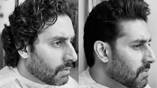Abhishek Bachchan Share before and after hair cut look on Social Media