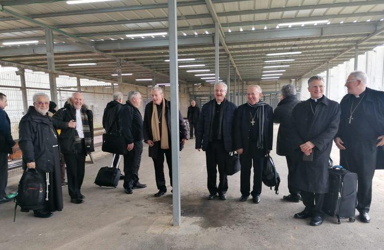 Los obispos en Tierra Santa
