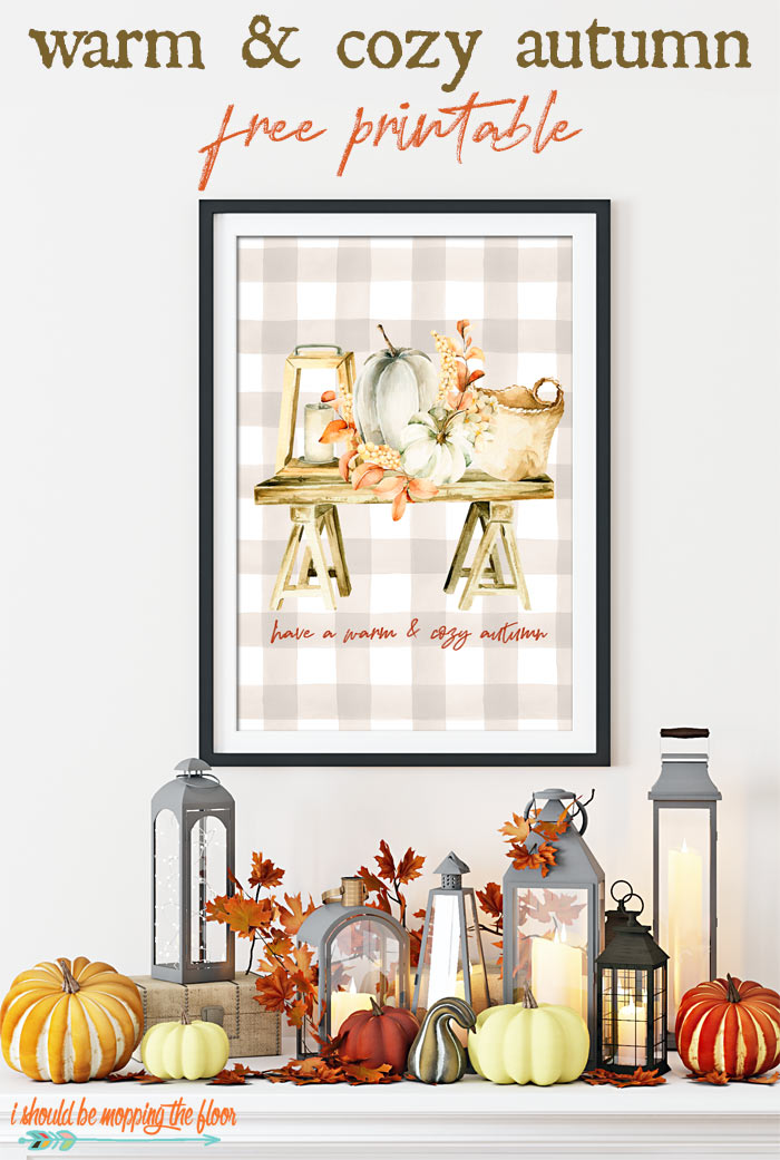 Cozy Autumn Printable