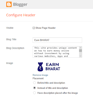 Change Favicon LOGO of Website on Blogger