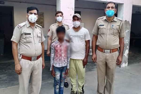 faridabad-mujesar-thana-police-news