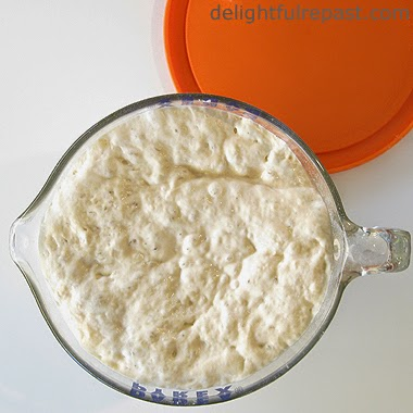 Sourdough Bread Dough / www/delightfulrepast.com