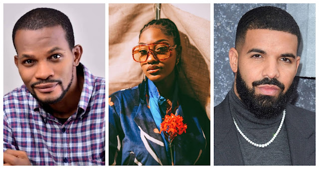 Use African Juju If You Want Drake To Marry You - Uche Maduagwu Tells Tems