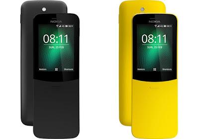 سعر هاتف  Nokia 8110 4G الجديد بالصور والفيديو
