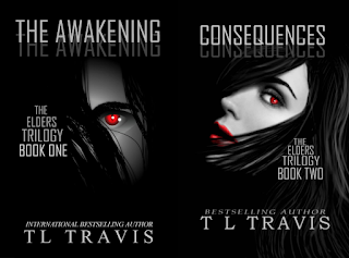 "Add ""The Elders Trilogy"" by TL Travis to Goodreads or download on Amazon!"