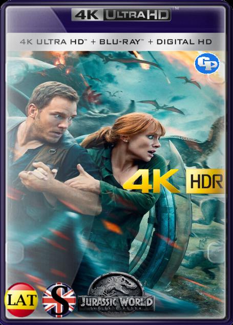 Jurassic World: El Reino Caído (2018) 4K HDR LATINO/INGLES