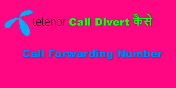 Telenor Call Divert