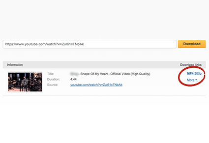 video download youtube