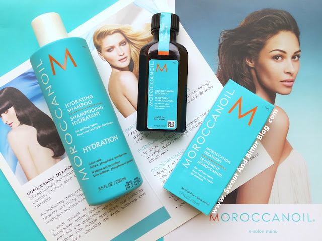 Moroccan Oil Hydration Shampoo and Treatment Oil