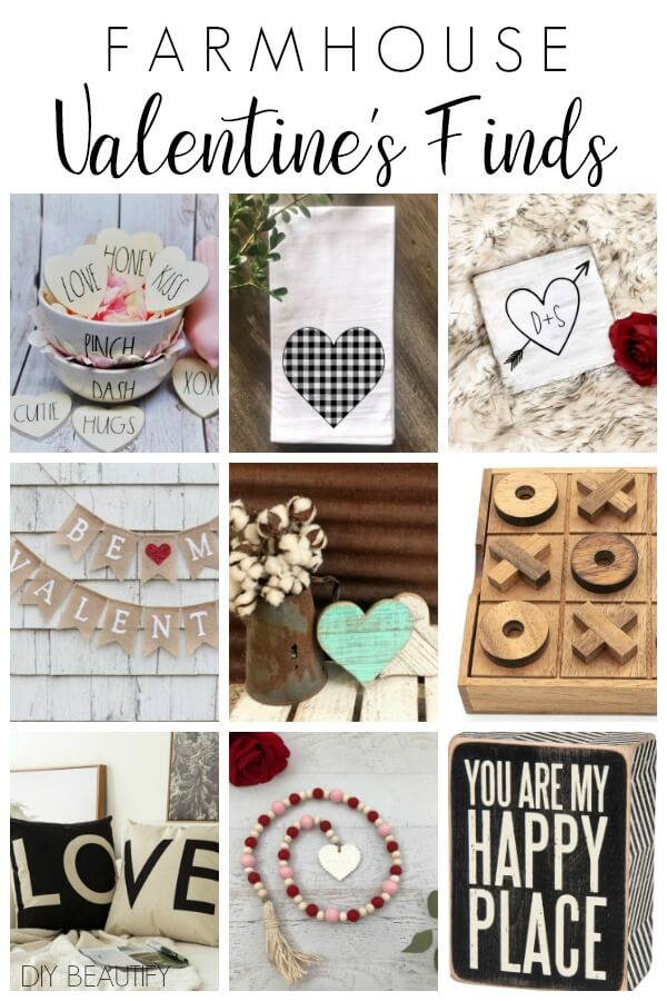 Farmhouse Valentine's finds