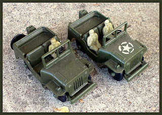 AFV's; Allied Jeep; Armoured Car; Armoured Reconnaissance Unit; Armoured Vehicles; ARU; Boxed Set; Churchill Model; Churchill Tank; Jeep Driver; Jeep Toy; Plastic Toys; Small Scale World; Small Toy Tank; smallscaleworld.blogspot.com; Staff Car; Tudor Rose;