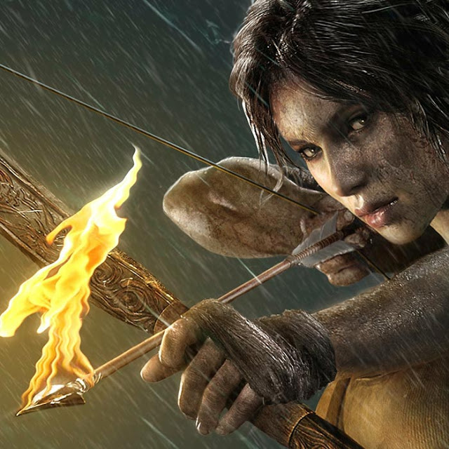 Tomb Raider Fire Arrows Wallpaper Engine