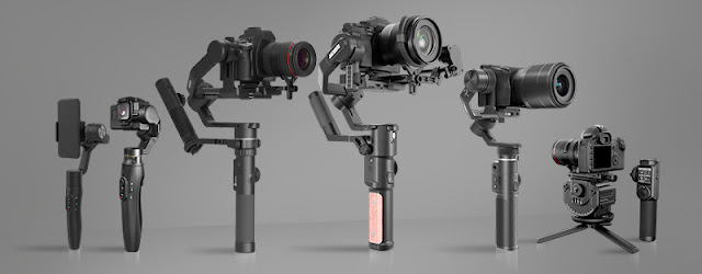 FeiyuTech presents multiple high-end gimbals at Inter BEE 2019