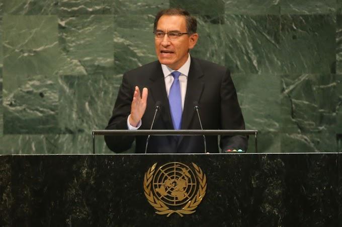 """ONU: Martín Vizcarra asegura que """"tenemos crecimiento económico, reducción de pobreza y empleo para todos"""" [VIDEO]"""