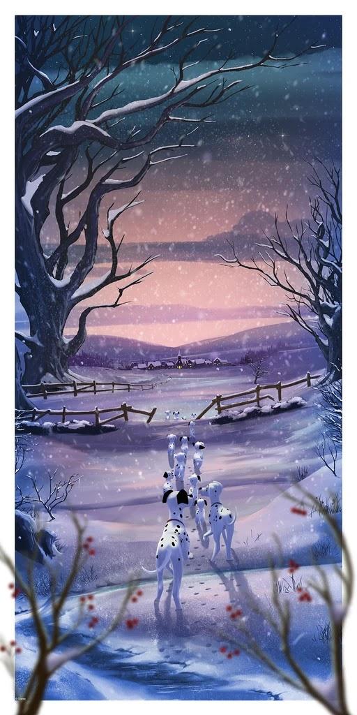 The Blot Says Disney Perspectives Giclee Print Series By Andy Fairhurst X Eyeland Prints X Bottleneck Gallery