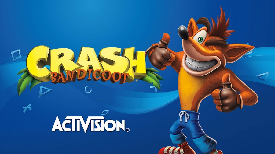 crash bandicoot worlds game playstation ad activision tease toys for bob vicarious visions