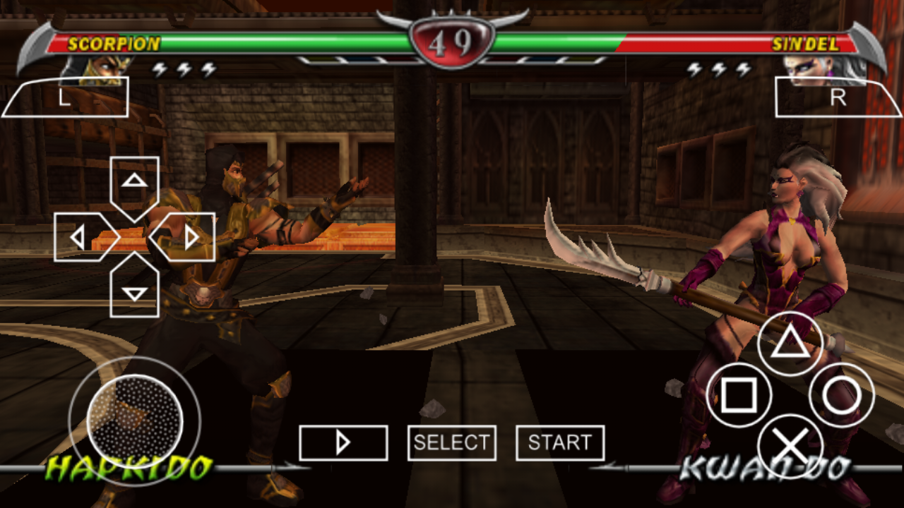Mortal kombat psp rom