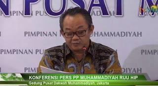 Cegah Konflik, Muhammadiyah Minta DPR Cabut RUU HIP Tak Perlu Tunggu 60 Hari