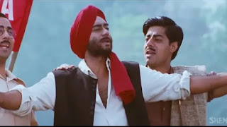 ajay devgan in song of 'desh mere'