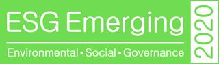 2020 List of ESG Emerging Companies