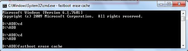 CMD Fastboot di Asus Zenfone C