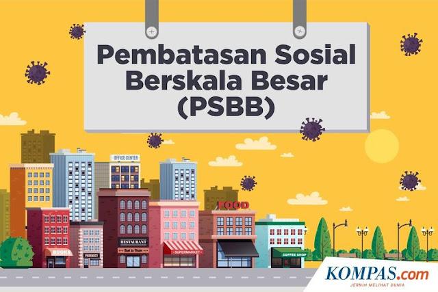 PSBB Orang PSBB Pula Kita, Surat untuk Walikota dan Bupati