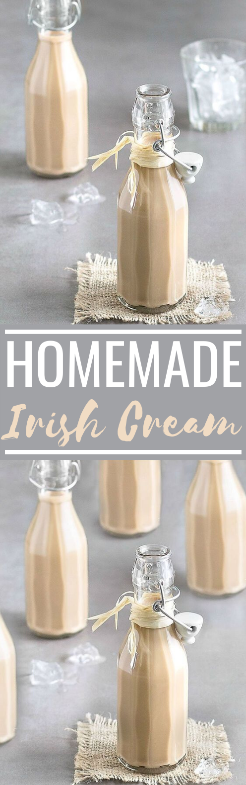 Homemade Baileys Irish Cream #drinks #alcohol #cocktails #holiday #recipes