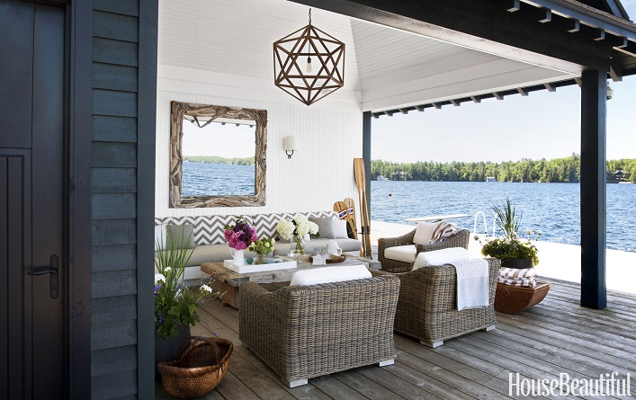 mix and chic a beautiful belgian style lake cottage in