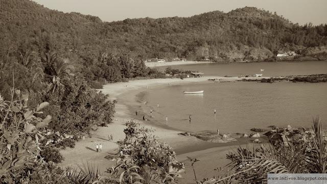 Om-beach, Gokarn, Intia