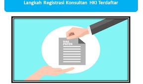 Langkah Registrasi Konsultan HKI Terdaftar