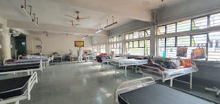 माधवनगर अस्पताल में 15 ऑक्सीजन मशीन वाले बेड शुरू हुए, कुल बेड की संख्या 181 हुई