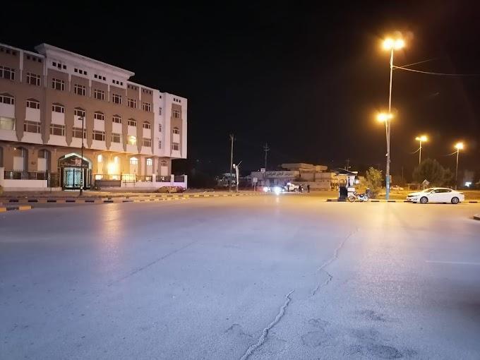 بالصور شوارع النجف تخلوا من المارة في اول ساعة لتطبيق الحظر التام