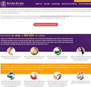 Giao diện Web Dịch vụ, Công ty Landing Page - Theme Blogspot Langding Page - Blogspotdep.com