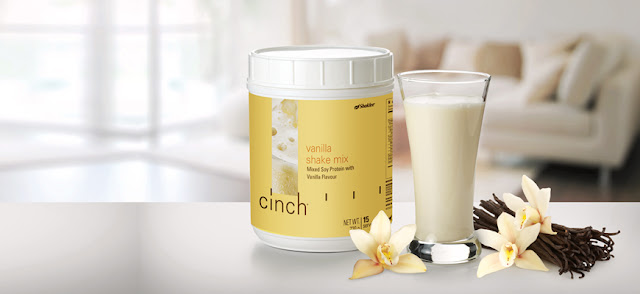 Cinch® Shake Mix perisa vanilla