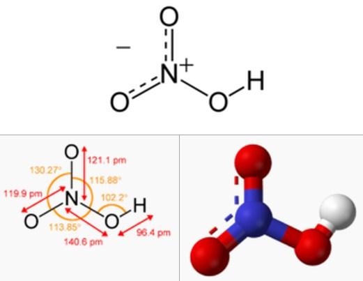 Rumus Kimia Asam Nitrat