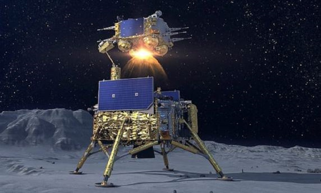 Chinese spacecraft brought 1,731 grams of sample from the moon