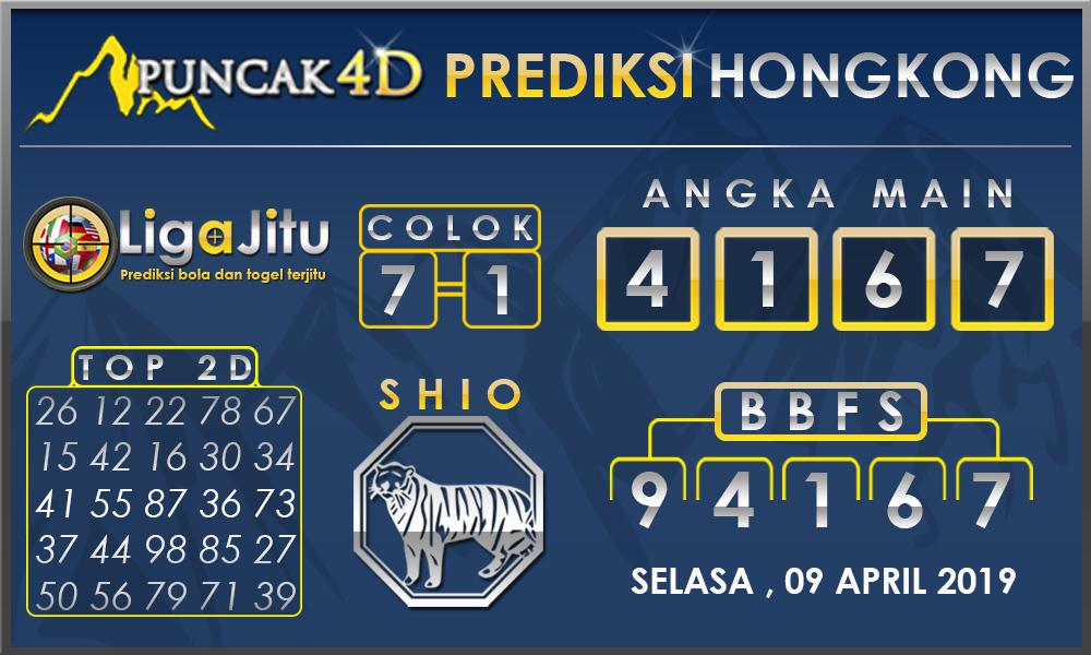 PREDIKSI TOGEL HONGKONG PUNCAK4D 09 APRIL 2019