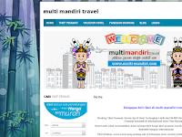Sistem Reservasi Online Multi Mandiri Travel