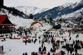 Solang Valley Adventurous place Manali