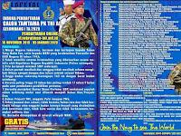 Pendaftaran Calon Tamtama PK TNI AL Gelombang I TA 2020