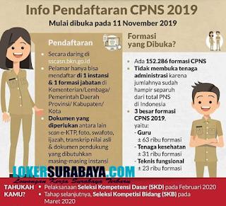 Info Pendaftaran CPNS 2019 Terbaru