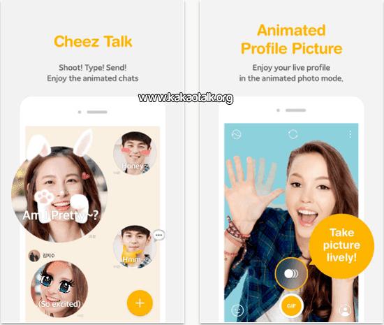 KakaoTalk Cheez para iOS