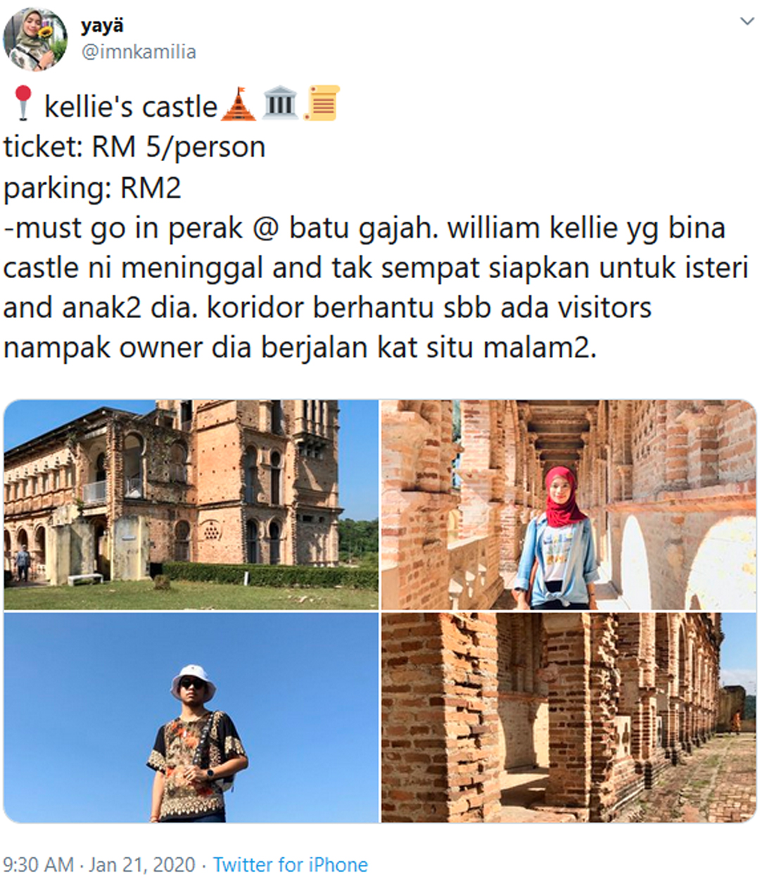Istana Kellie Batu Gajah