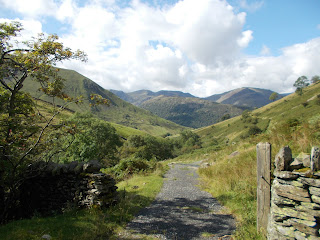 lake district walks - brock crags