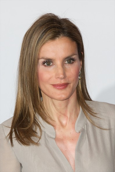 Princess Letizia  attended  the Fashion National Awards