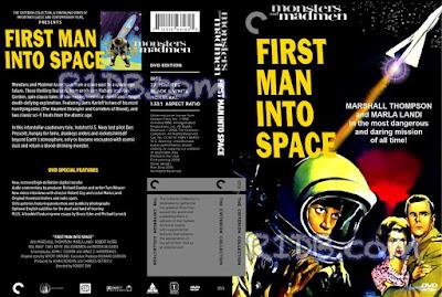 Carátula dvd: First Man Into Space (1959)