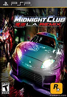 Cheat Midnight Club: L.A. Remix PSP PPSSPP