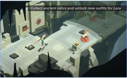 Game Petualangan Puzzle Terbaik Android Lara Croft GO MOD APK